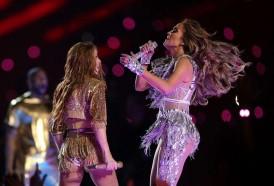 Portal 180 - Las imagenes del show de Shakira y Jennifer Lopez en el Super Bowl