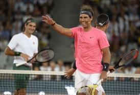 Portal 180 - Federer y Nadal reúnen a 48.000 espectadores, récord mundial del tenis