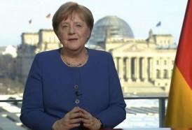 Portal 180 - Inusual discurso de Merkel ante el desafío del coronavirus