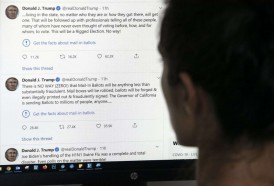 """Portal 180 - Trump amenaza con """"cerrar"""" redes sociales tras cuestionamiento de sus tuits"""