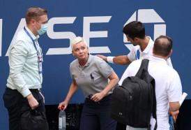Portal 180 - Terremoto en el US Open: Djokovic descalificado por pelotazo involuntario a una jueza