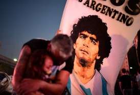 Portal 180 - Maradona sufría trastornos hepático, renal y cardíaco, según estudios