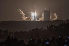 Portal 180 - Sonda china se posó en la Luna, anuncia agencia estatal de noticias Xinhua