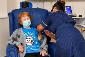 Portal 180 - Una abuela británica, primera occidental vacunada contra el coronavirus