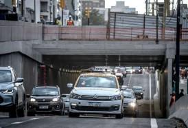 Portal 180 - Las imágenes del pasaje a desnivel de Avenida Italia y Centenario