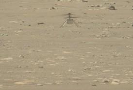 Portal 180 - Más alto y por más tiempo: helicóptero Ingenuity vuela una segunda vez en Marte