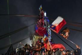 Portal 180 - De los torniquetes a las urnas: los estudiantes chilenos empujaron la Constituyente