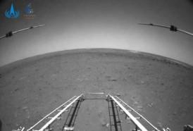Portal 180 - Robot chino envía primeras imágenes desde Marte