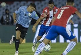 Portal 180 - Las imágenes del empate entre Uruguay y Paraguay