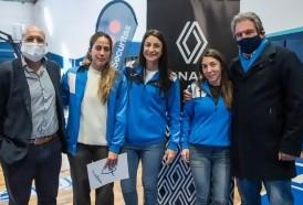Portal 180 - Renault apoya al primer equipo profesional de básquetbol femenino de Uruguay