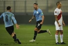 Portal 180 - Uruguay empató en Lima y se mantiene en zona de clasificación a Catar