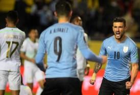 Portal 180 - Uruguay volvió a la victoria por Eliminatorias ante Bolivia
