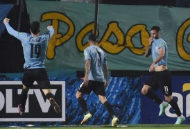Portal 180 - Un gol agónico dejó a Uruguay tercero en la eliminatoria hacia Catar