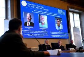Portal 180 - Dos expertos en el clima y un teórico italiano, ganadores del Nobel de Física