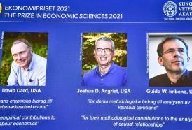 """Portal 180 - Nobel de Economía para tres especialistas en """"experimentos naturales"""""""