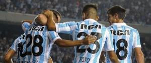 """Portal 180 - Racing goleó a Vasco y lidera """"el grupo de la muerte"""""""