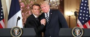 Portal 180 - Macron y Trump: amistoso protocolo en un abismo discursivo