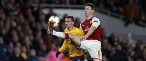 Portal 180 - Arsenal y Atlético empataron 1-1 Arsenal por semifinales de Europa League