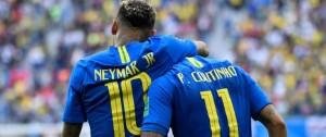 Portal 180 - Brasil le ganó a Costa Rica con dos goles en los descuentos