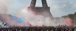 Portal 180 - Multitudinarios festejos en toda Francia