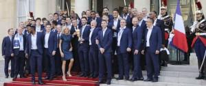 Portal 180 - Los 'Bleus' condecorados con la Legión de Honor, máxima distinción en Francia