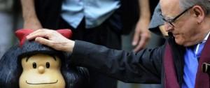 Portal 180 - Quino rechazó uso de Mafalda para campaña contra el aborto legal