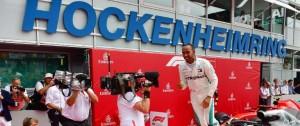 Portal 180 - Hamilton ganó y recuperó el liderato en casa de un desafortunado Vettel