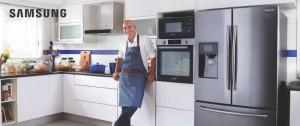 """Portal 180 - Samsung presenta su nueva """"Colección del Chef"""" de la mano de Hugo Soca"""