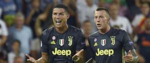 Portal 180 - Ronaldo se fue expulsado en su primer partido de Champions con la Juve