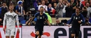 Portal 180 - Un doblete de Griezmann da victoria a Francia y deja a Löw en posición delicada