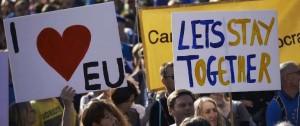 Portal 180 - Masiva manifestación en Londres en reclamo a un segundo referendo sobre el Brexit