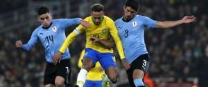 Portal 180 - Uruguay mejora su versión pero ante Brasil con eso no alcanza
