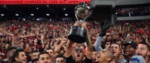 Portal 180 - Paranaense levanta su primera Sudamericana y da el soñado salto internacional