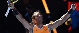 Portal 180 - Nadal derrotó a Berdych y pasó a cuartos del Abierto de Australia