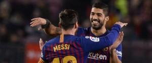 Portal 180 - Gol de Suárez en el triunfo de Barcelona