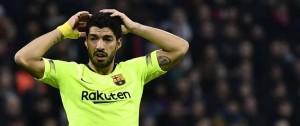 Portal 180 - Suárez no anota fuera del Camp Nou por Champions desde 2015
