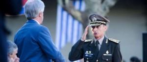 Portal 180 - Nuevo comandante del Ejército agradeció la gestión de Manini Ríos