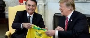 """Portal 180 - Brasil y EEUU """"nunca han estado más cerca"""", le dice Trump a Bolsonaro"""