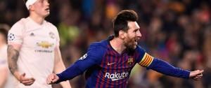 Portal 180 - Messi rompió el maleficio del Barça: eliminó al Manchester United y vuelve a las semifinales europeas