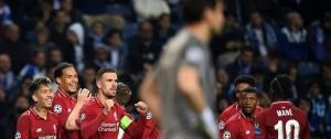 Portal 180 - Liverpool goleó al Porto y será el rival del Barcelona en semifinales