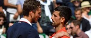 Portal 180 - Djokovic cayó eliminado en cuartos de Montecarlo a manos de Medvedev
