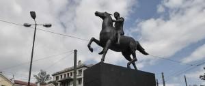 Portal 180 - Atenas instaló su primera estatua de Alejandro Magno