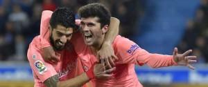 Portal 180 - Barcelona acaricia el título de La Liga tras derrotar al Alavés con gol de Suárez