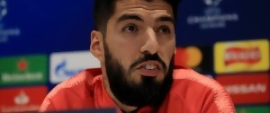 Portal 180 - Luis Suárez, triste, justifica su operación antes de la final de Copa