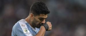 Portal 180 - Uruguay descarta lesión en mano de Suárez y es optimista con vuelta de Laxalt en fase final