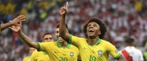 Portal 180 - Goles, fútbol y clasificación: Brasil goleó 5-0 a Perú