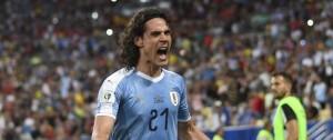 """Portal 180 - Uruguay tuvo """"actitud y mentalidad"""" para vencer a Chile, dijo Cavani"""