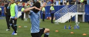 Portal 180 - Las mejores fotos de la victoria de Uruguay contra Chile