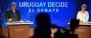 Portal 180 - Las fotos del debate Cosse-Larrañaga
