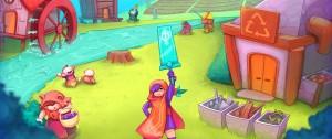 """Portal 180 - """"Valle Dorado"""", el videojuego con sello de la IM que promueve la economía circular"""